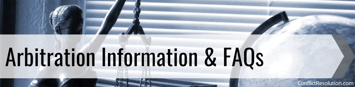Arbitration Information & FAQs