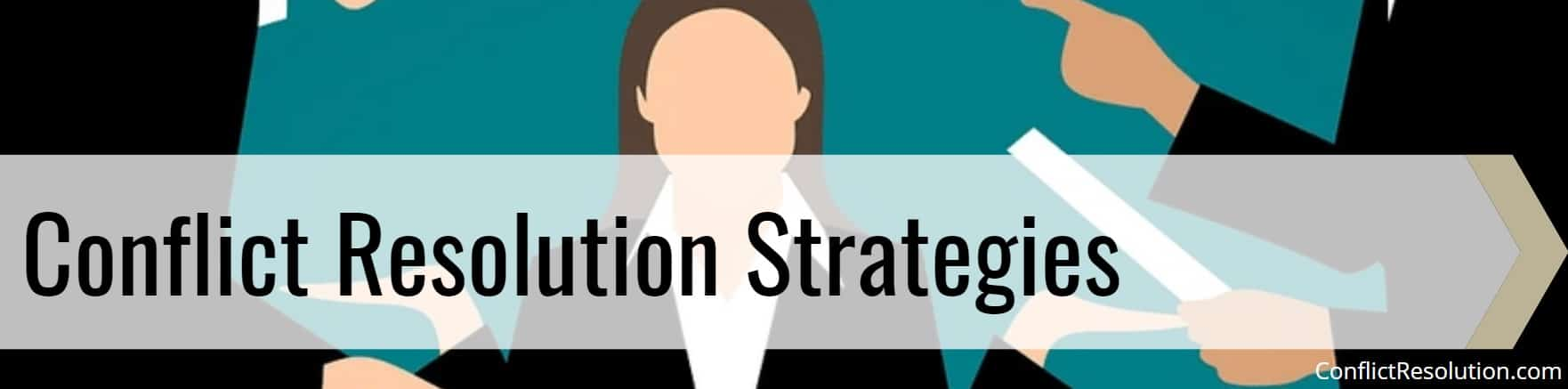 Conflict Resolution Strategies Banner