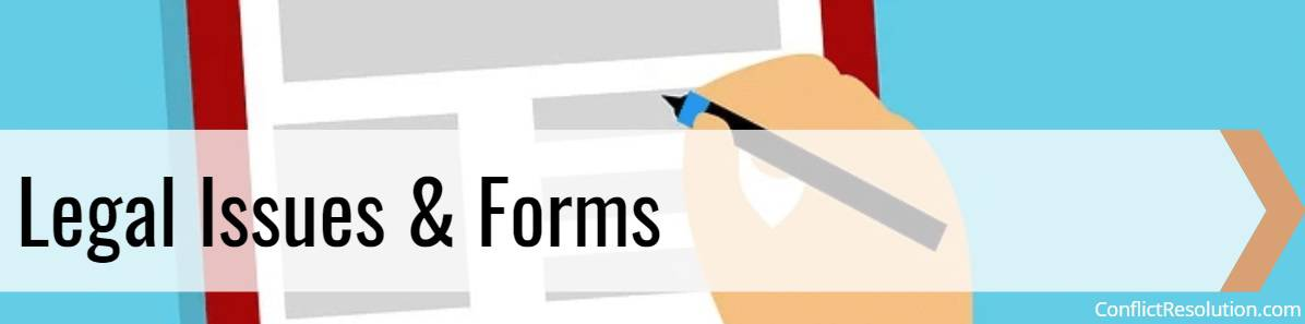 Legal Issues & Forms